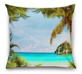 3D Подушка «Под пальмами»