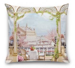 3D Подушка «Королевская терраса»
