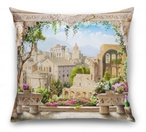 3D Подушка «Римская терраса»