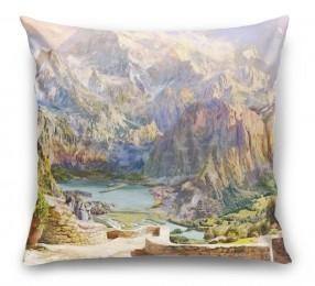 3D Подушка «Горная долина»