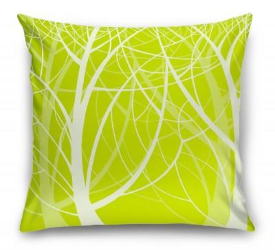 3D Подушка «Весенний лес»
