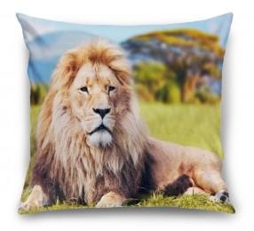 3D Подушка «Лев»