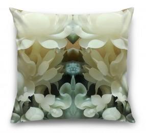 3D Подушка «Нефритовые цветы»