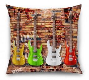 3D Подушка «Лофт гитары»