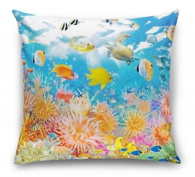3D Подушка «Коралловый риф»