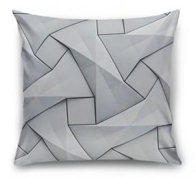3D Подушка «Мозаика из квадратов»