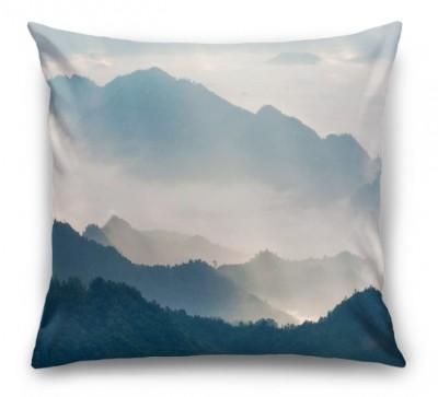 3D Подушка «Туманный горный пезаж»