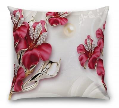 3D Подушка «Драгоценные лилии»
