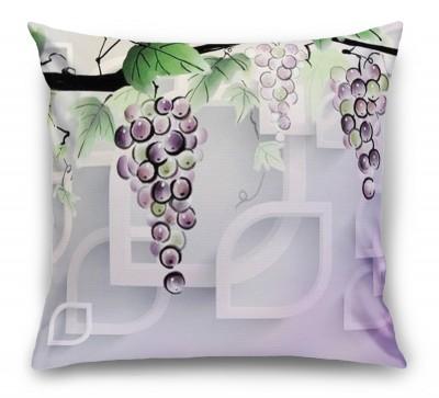 3D Подушка «Виноградная лоза»