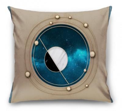 3D Подушка «Окно в космический простор»