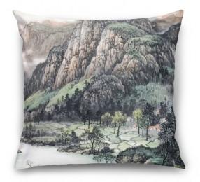 3D Подушка «Горы»