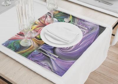 Сервировочные салфетки «Смешение красок»