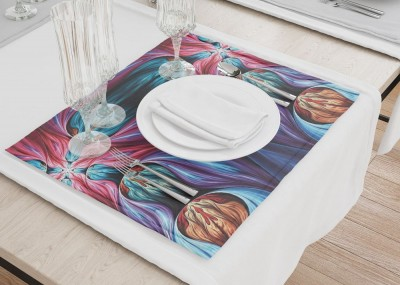 Сервировочные салфетки «Абстрактная композиция»