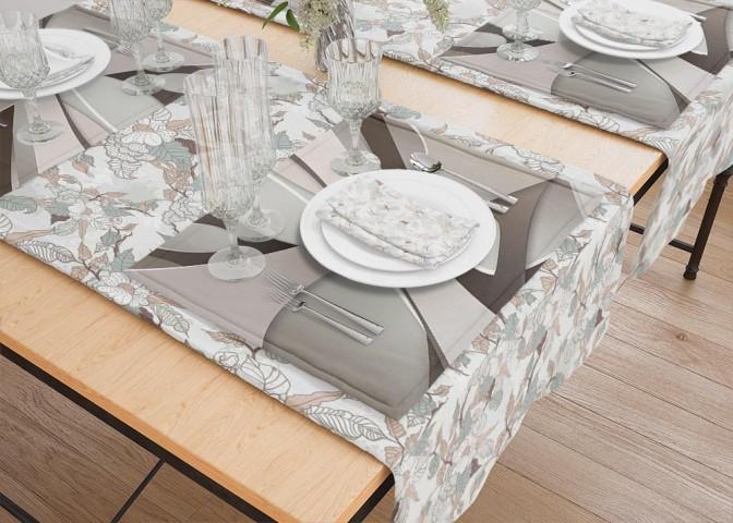 Салфетки для столовых приборов «Удивительная абстракция» вид 5