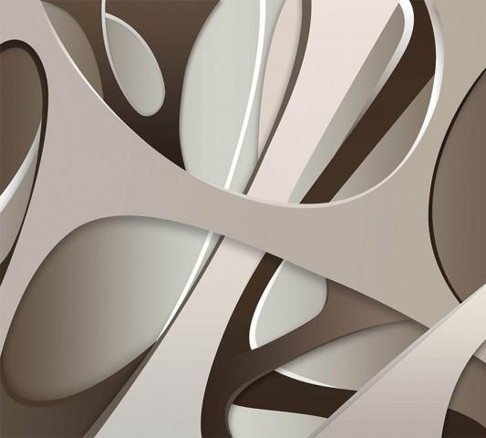 Салфетки для столовых приборов «Удивительная абстракция» вид 2
