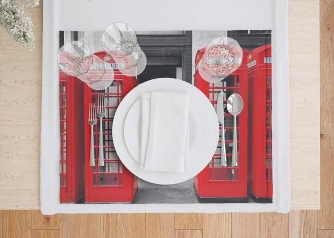 Кухонные салфетки «Телефонные будки» вид 7