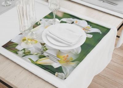 Сервировочные салфетки «Белые лилии»
