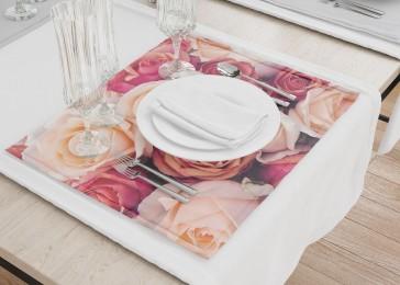 Сервировочные салфетки «Ассорти из роз»