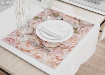 Сервировочные салфетки «Кремовые розы»