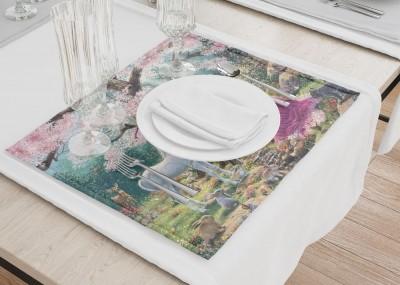 Сервировочные салфетки «Принцесса в цветущем саду»