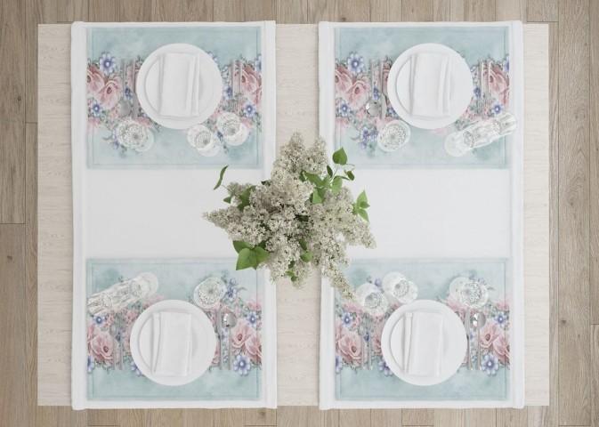 Салфетки под тарелки «Цветочная гармония» вид 4