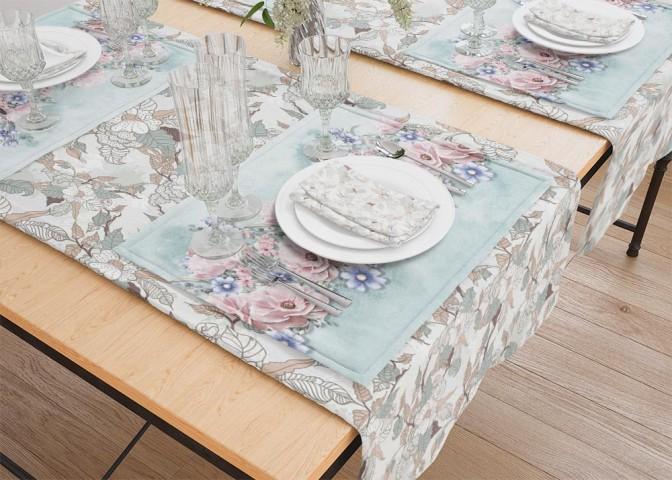 Салфетки под тарелки «Цветочная гармония» вид 5