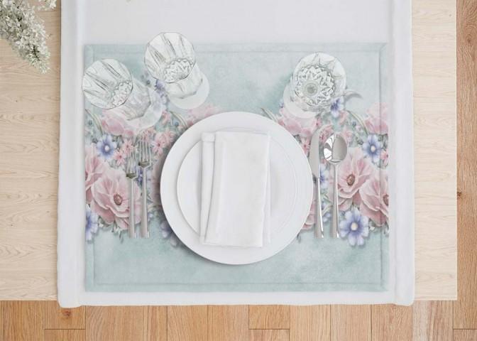 Салфетки под тарелки «Цветочная гармония» вид 7