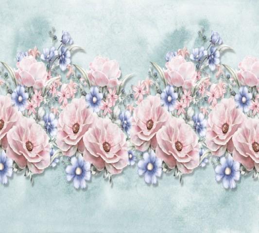 Салфетки под тарелки «Цветочная гармония» вид 2