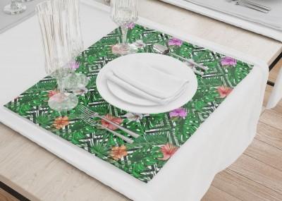 Сервировочные салфетки «Листья папоротника с цветами»
