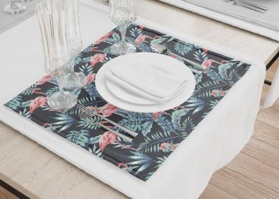 Сервировочные салфетки «Тропическая ночь.Фламинго»