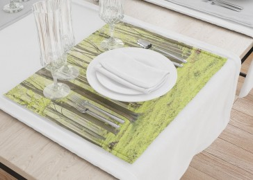 Сервировочные салфетки «Зеленый лес»