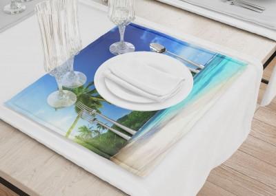 Сервировочные салфетки «Пальма на пляже»