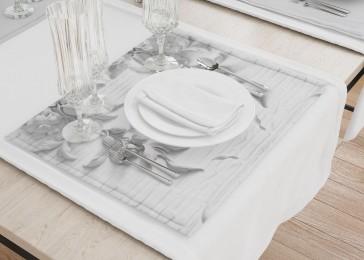 Сервировочные салфетки «Рельеф с ниспадающими цветами»