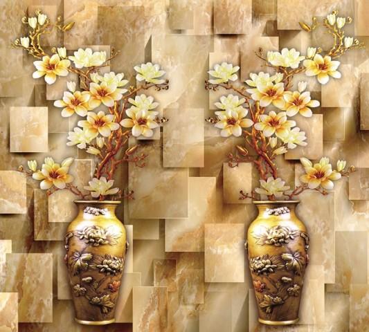 Подставки на стол «Объемные китайские вазы» вид 2