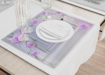 Сервировочные салфетки «Тоннель с розами»