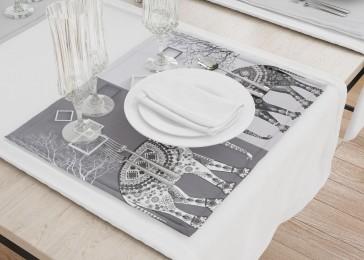 Сервировочные салфетки «Слоны в стиле модерн»