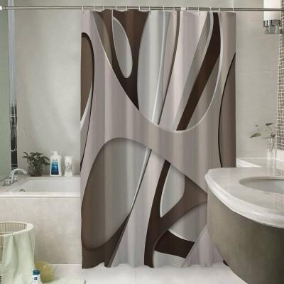Шторы для ванной «Удивительная абстракция»