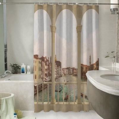 Шторы для ванной «Балкон в Венеции»