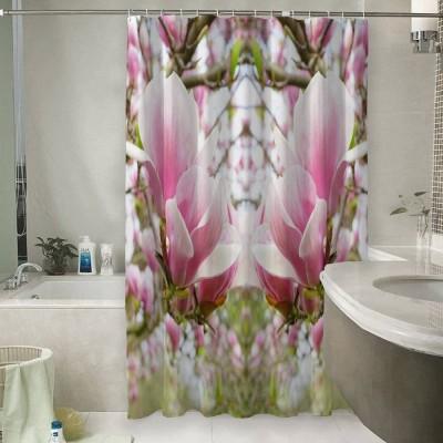 Шторы для ванной «Цветущая магнолия»