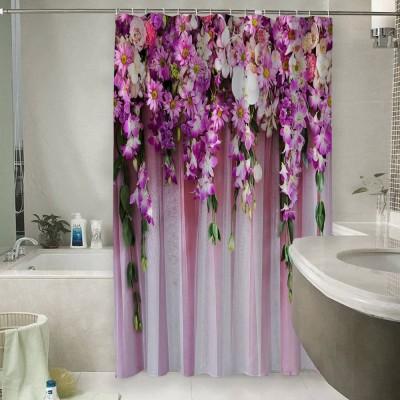 Шторы для ванной «Цветочные гирлянды»