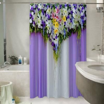 Шторы для ванной «Сиреневая вуаль»