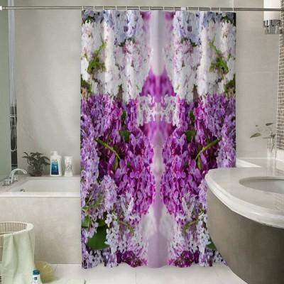 Шторы для ванной «Благоухание красок»