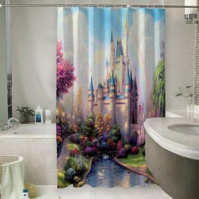 Шторы для ванной «Замок для детской»