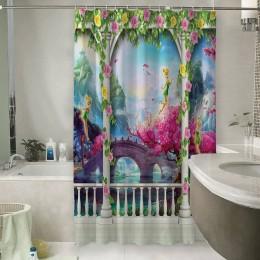 Шторы для ванной «Мир фантазии»
