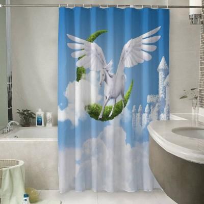Шторы для ванной «Пегас над облаками»