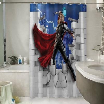 Шторы для ванной «Тор из-за стены»