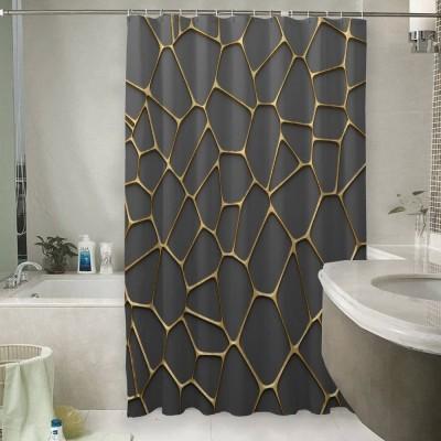 Шторы для ванной «Золотая паутина»