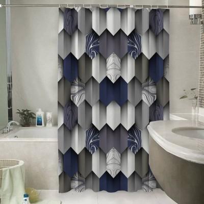 Шторы для ванной «Трёхмерное изящество»