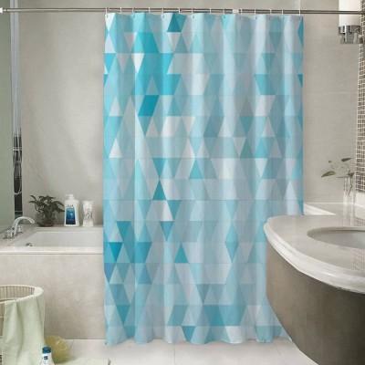 Шторы для ванной «Морские треугольники»