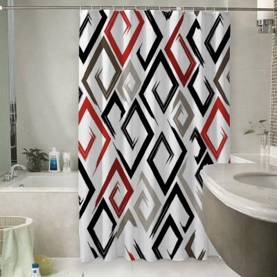 Шторы для ванной «Цветные штрихи»